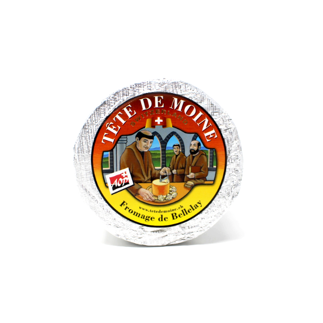 Tete de Moine Swiss Cheese - Cured and Cultivated