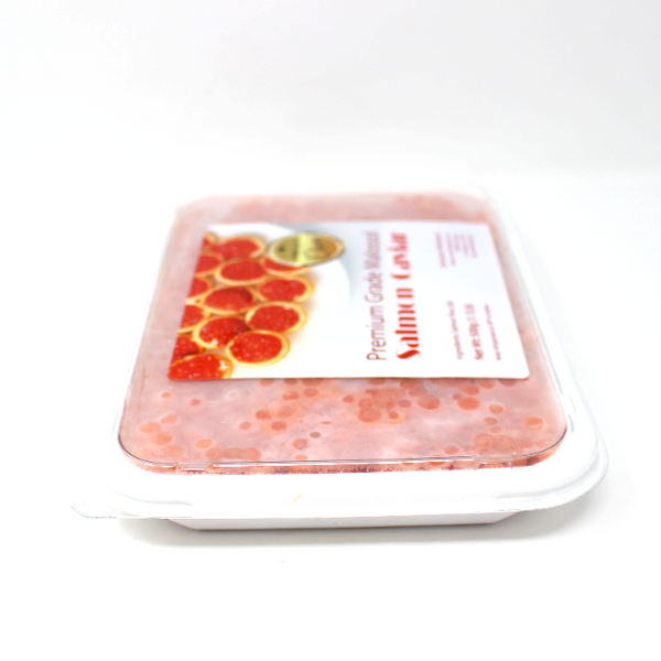Malossol Red Salmon Caviar, 1.1 lb - Cured and Cultivated