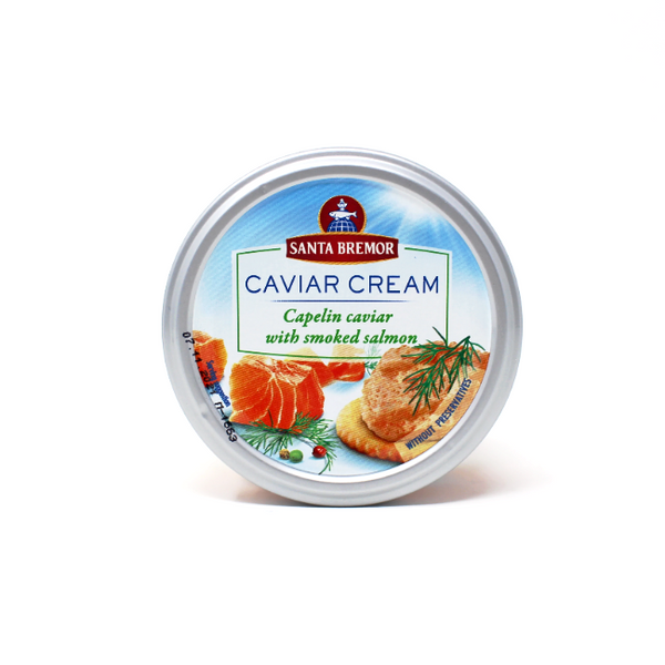 Santa Bremor Caviar Cream - Salmon, 6.35 oz - Cured and Cultivated