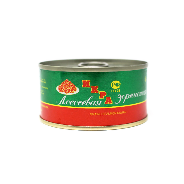 Red Salmon Caviar, 4.6 oz - Cured and Cultivated