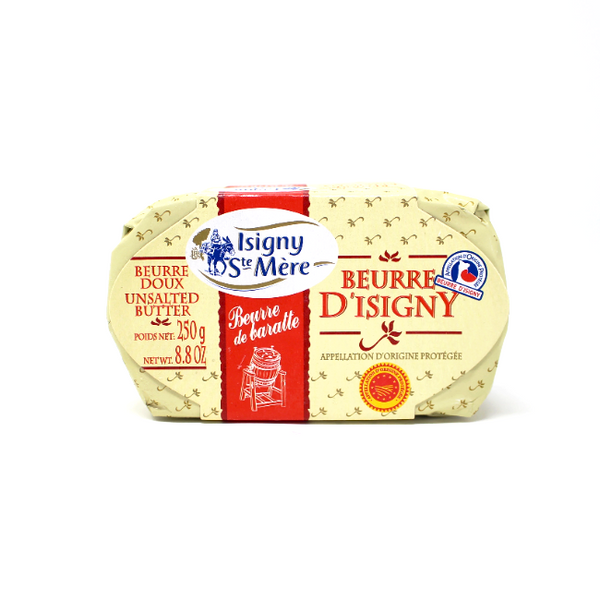 Beurre de D'Isigny unsalted Butter France - Cured and Cultivated