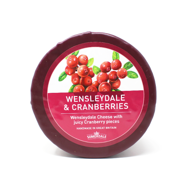 Somerdale Wensleydale with Cranberries cheese - Cured and Cultivated