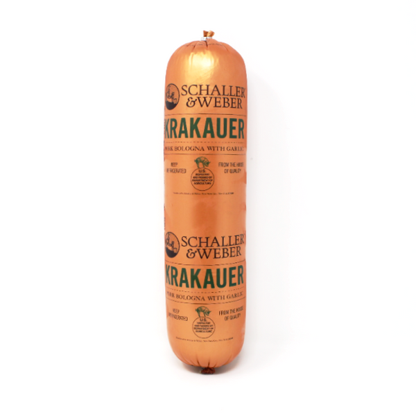 Krakauer garlic bologna Schaller Weber - Cured and Cultivated