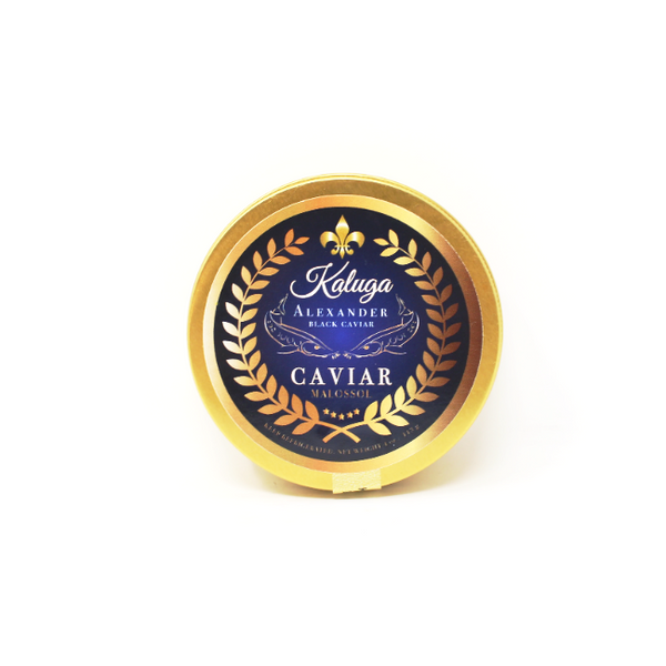 KALUGA - Alexander Black Caviar, 4 oz. - Cured and Cultivated