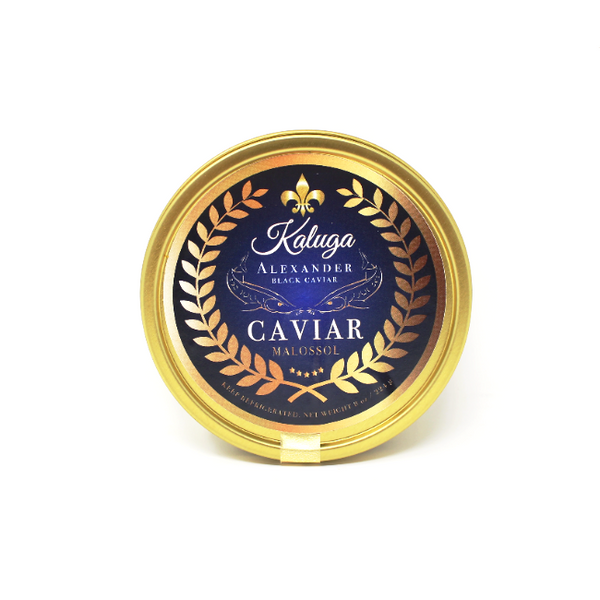 KALUGA - Alexander Black Caviar, 8 oz. - Cured and Cultivated