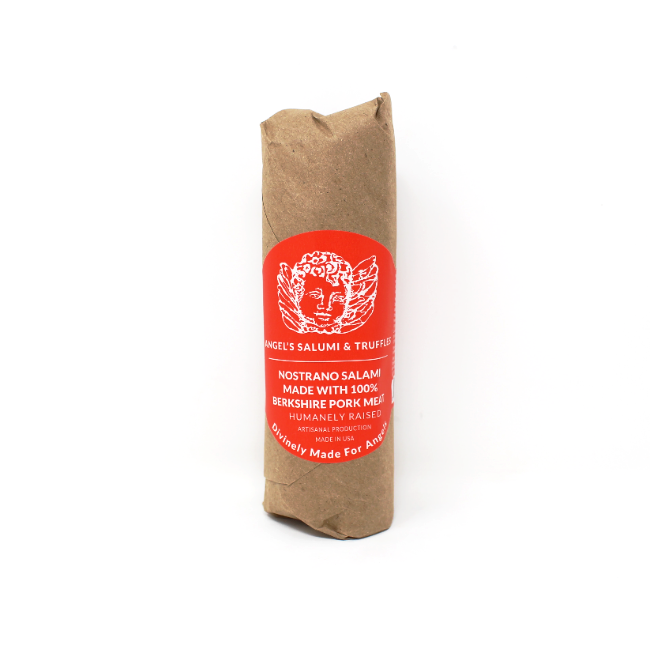 Angel's Nostrano Italian Salami, 5.5 oz. - Cured and Cultivated