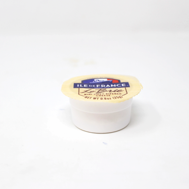 Petite Brie Ile de France, 0.9 oz  - Cured and Cultivated