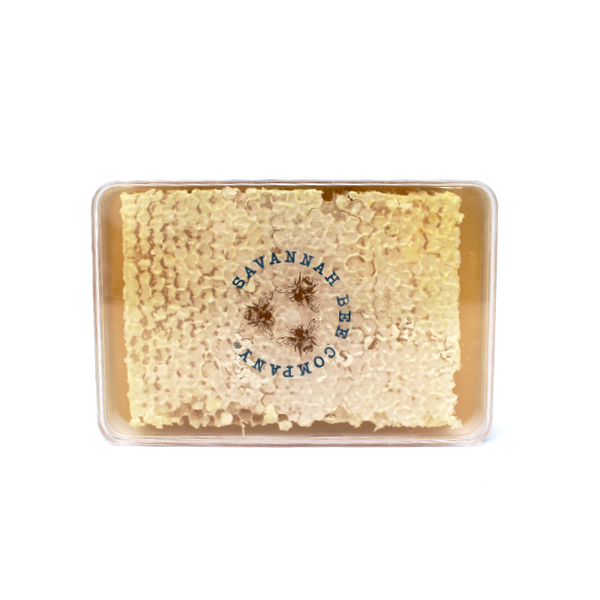 Raw Honeycomb Savannah Bee - Cured and Cultivated