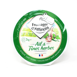 Fromager d'Affinois Garlic and Herbs French Brie cheese - Cured and Cultivated