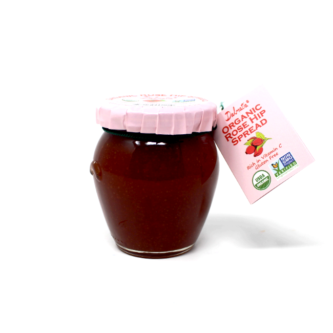 Dalmatia Rose Hip Spread, 8.5 oz - Cured and Cultivated