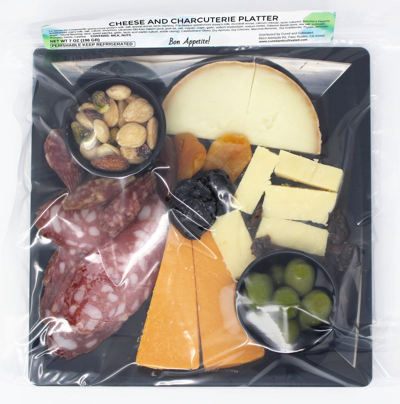 Cheese and Charcuterie pack
