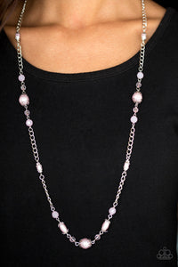 Paparazzi Jewelry Necklace Magnificently Milan Pink