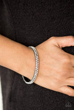 Load image into Gallery viewer, Paparazzi Jewelry Bracelet Decked Out In Diamonds Black