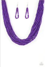 Load image into Gallery viewer, Paparazzi Jewelry Necklace The Show Must CONGO On! - Purple