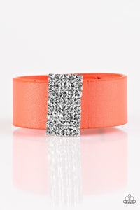 Paparazzi Jewelry Bracelet Walk The CATWALK - Orange