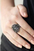 Load image into Gallery viewer, Paparazzi Jewelry Ring Grenada Gardens - Black