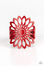 Load image into Gallery viewer, Paparazzi Jewelry Bracelet Wildly Wildflower - Red