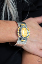 Load image into Gallery viewer, Paparazzi Jewelry Bracelet Canyon Crafted - Yellow