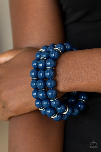 Paparazzi Jewelry Bracelet Chroma Collision - Blue