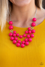 Load image into Gallery viewer, Paparazzi Jewelry Necklace Miss Pop-YOU-larity - Pink