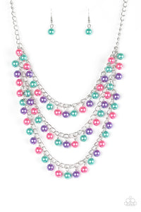 Paparazzi Jewelry Necklace Chicly Classic - Multi