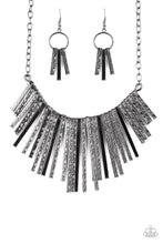 Load image into Gallery viewer, Paparazzi Jewelry Necklace Welcome To The Pack Black