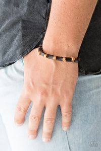 Paparazzi Jewelry Men Backwoods Backpacker - Brown