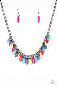 Paparazzi Jewelry Necklace Jersey Shore - Multi