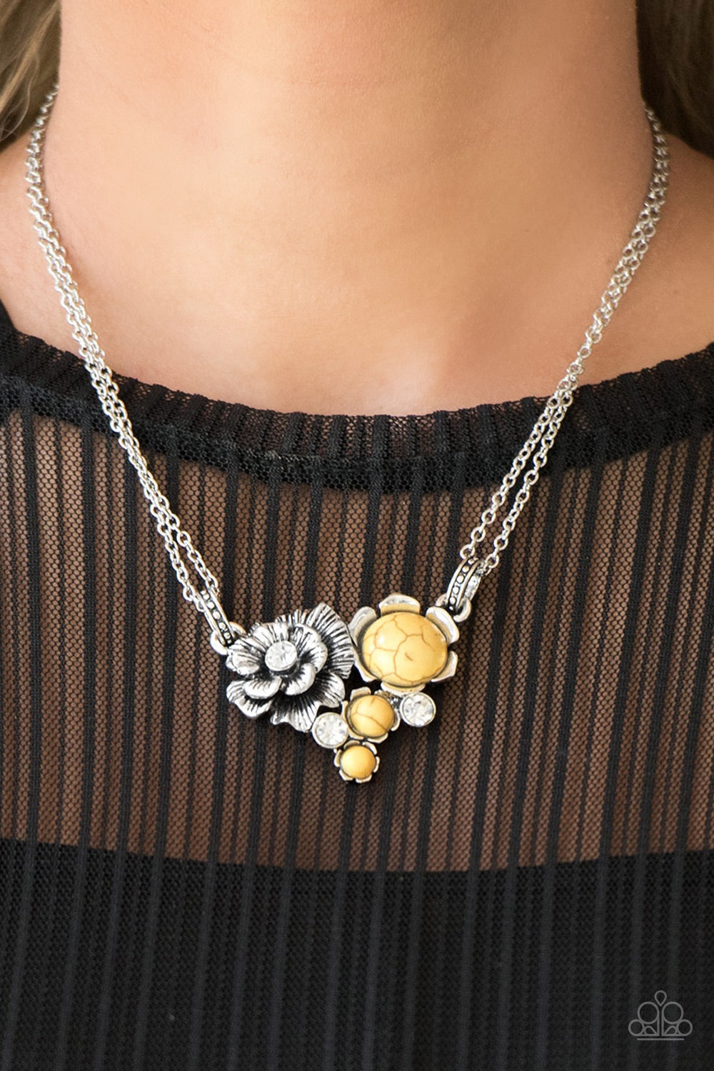 Paparazzi Jewelry Set Desert Harvest/Southern Serenity Yellow