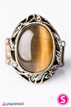 Load image into Gallery viewer, Paparazzi Jewelry Ring Nighttime Garden - Brass