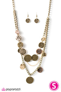 Paparazzi Jewelry Necklace Lost Treasure - Multi