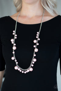 Paparazzi Jewelry Necklace  Theres Always Room At The Top - Pink