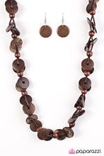 Load image into Gallery viewer, Paparazzi Jewelry Wooden Caribbean Carnival - Brown