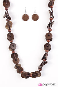 Paparazzi Jewelry Wooden Caribbean Carnival - Brown