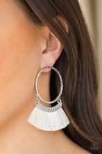Load image into Gallery viewer, Paparazzi Jewelry Earrings This Is Sparta White