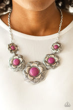 Load image into Gallery viewer, Paparazzi Jewelry Necklace Santa Fe Hills - Purple