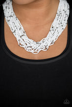 Load image into Gallery viewer, Paparazzi Jewelry Necklace Summer Samba - White