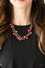 Load image into Gallery viewer, Paparazzi Jewelry Set    Grit and Glamour - Pink