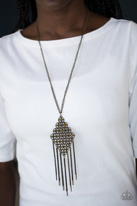 Paparazzi Jewelry Necklace Web Design - Brass