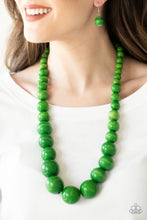 Load image into Gallery viewer, Paparazzi Jewelry Wooden Effortlessly Everglades - Green