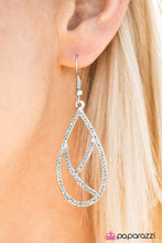 Load image into Gallery viewer, Paparazzi Jewelry Earrings Take By Storm - Silver