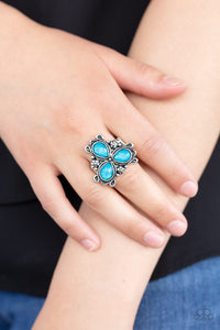 Paparazzi Jewelry Ring Ambrosial Garden - Blue