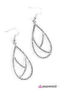 Paparazzi Jewelry Earrings Take By Storm - Silver