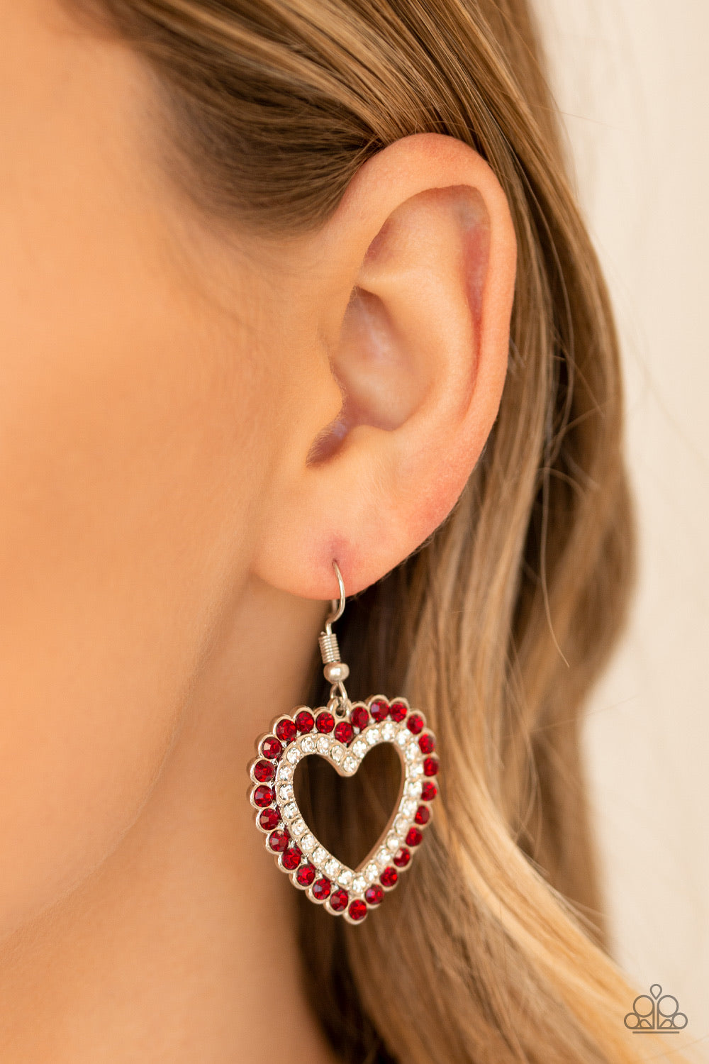 Paparazzi Jewelry Valentines High School Sweethearts - Red