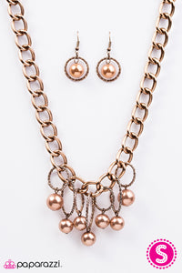 Paparazzi Jewelry Necklace Classic Girl - Copper