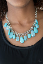 Load image into Gallery viewer, Paparazzi Jewelry Necklace Glacier Goddess - Blue