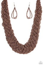 Load image into Gallery viewer, Paparazzi Jewelry Necklace  Mesmerizingly Mesopotamia - Copper