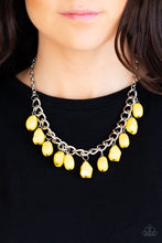 Load image into Gallery viewer, Paparazzi Jewelry Necklace Take The COLOR Wheel! - Yellow