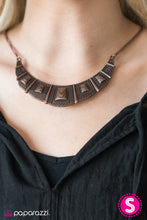 Load image into Gallery viewer, Paparazzi Jewelry Necklace Adventure Queen - Copper