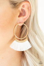 Load image into Gallery viewer, Paparazzi Jewelry Earrings This Is Sparta! - Gold